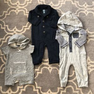 Collection of Baby Gap Rompers